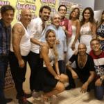 Pedro Alfonso feliz con la visita de Gasalla y Polino
