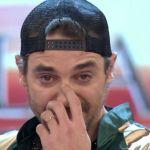 La emotiva despedida de Pedro Alfonso del Bailando. Fotos y vídeos