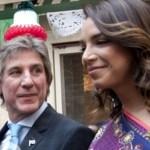 La pareja de Amado Boudou habló con Susana Giménez