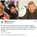José María Listorti y Denise Dumas vuelven a conducir juntos