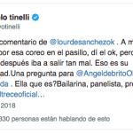 """Marcelo Tinelli, muy enojado con Lourdes Sánchez: """"Desubicado comentario"""""""