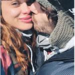 Vitto Saravia y Manu Desrets, enamorados en Bariloche... y provocadores mensajes para Silvina Luna