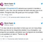Moria Casán dio una nota hablando de quién filtró el audio contra Rial y después terminó quejándose en las redes
