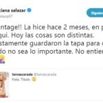 Tras la polémica, la directora de Caras desmintió a Luli Salazar