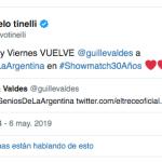 "Marcelo Tinelli confirmó a Guillermina Valdés como jurado de ""Genios de la Argentina"""