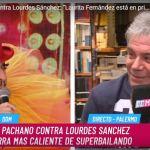 Aníbal Pachano, durísimo y sincero contra Lourdes Sánchez