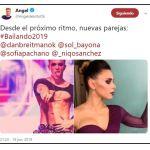 Ángel de Brito anunció con quiénes bailarán Sofía Pachano y Dan Breitman desde el próximo ritmo