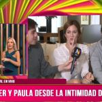 Paula Chaves y Pedro Alfonso hablaron de su intimidad en el programa de Luciana SalazaryDiego Ramos. Video