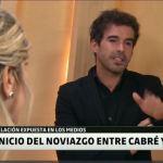 El mea culpa de Nicolás Cabré sobre su mala relación con la prensa
