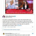"""Sigue la guerra entre Dalma y Graciela Alfano: """"Dejáme en paz y peleate con alguien de tu edad"""""""