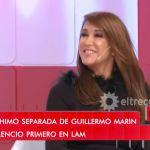 """Valeria Archimó lloró al hablar de su separación de Guillermo Marín: """"Chocábamos y discutíamos bastante"""""""