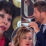 La Mamá de Karina muy enojada con el jurado se desquitó y le puso los puntos a Tinelli
