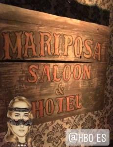 Cartel Mariposa Saloon