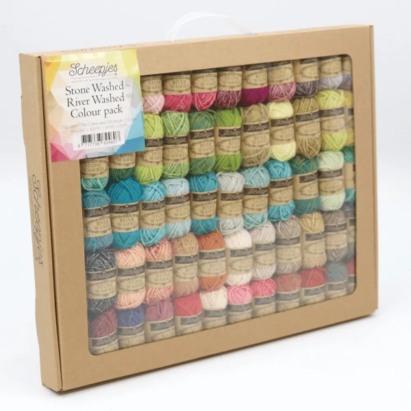 Stone Washed River Washed Colour Pack