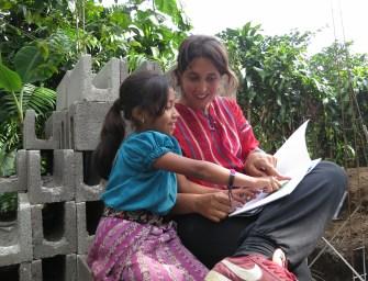 Voluntaria del mes: Almudena Villarino