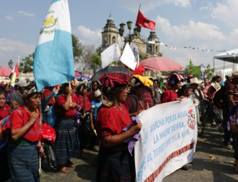 """The Fourth Invasion"" – Guatemala's water crisis in context"