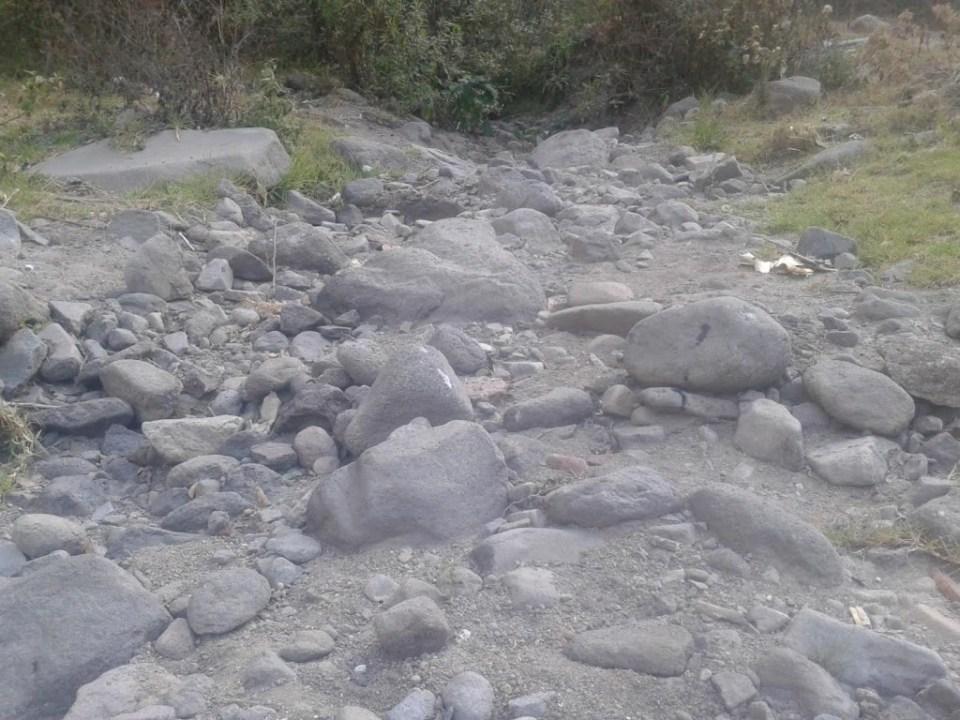 Richuelo seco, Cantel. Foto por: Esteban Sacalxot