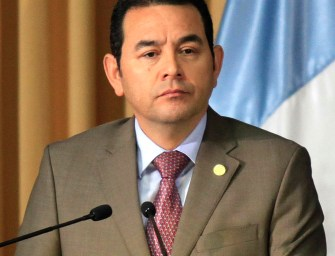 The Public Ministry is investigating President Morales' FCN party for drug trafficker campaign donations