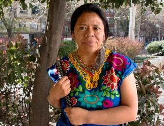 Exiled Maya leader Lolita Chávez: Nightmares of the past, dreams of the future