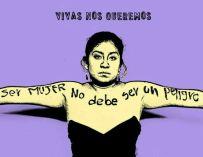En este día de la mujer, solo queremos que nos nos violenten y nos dejen vivir