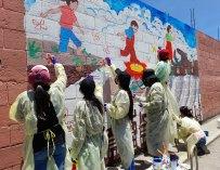Pintando para crear conciencia ambiental
