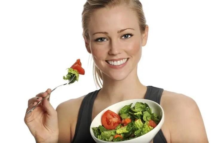 Una dieta sana para mujeres que quieren ganar músculo