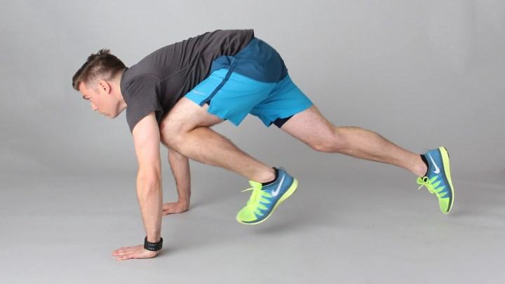 Posición de plancha para fortalecer tu core