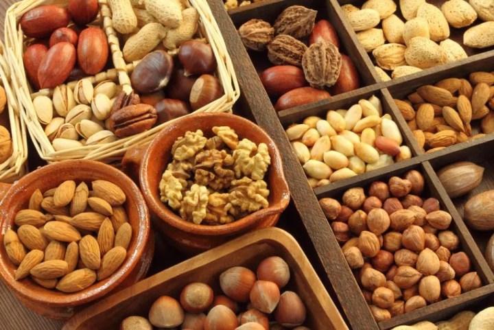 Los frutos secos son un snack beneficioso para una maratón