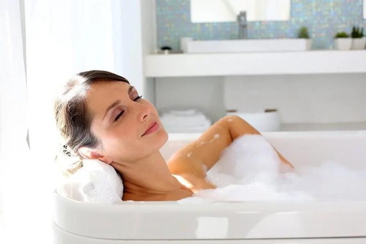 Beneficios relajantes de los baños