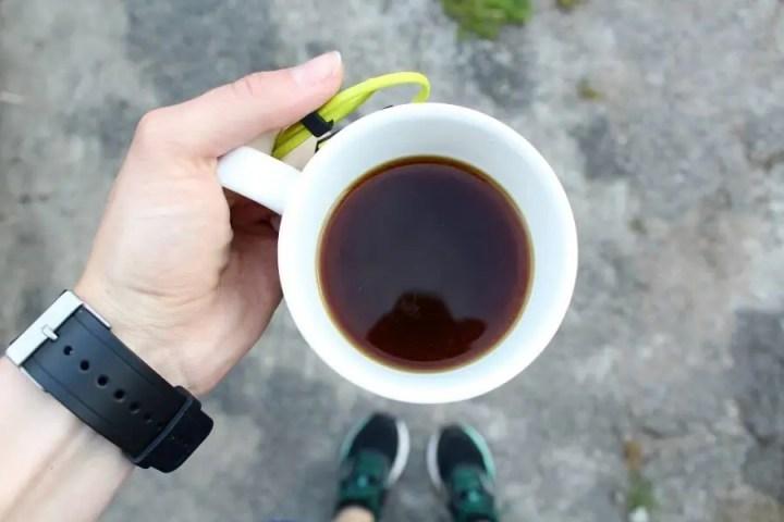 El café te ayuda a hacer ejercicio por la mañana