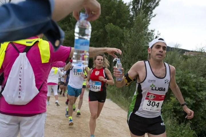 Guía de hidratación para runners