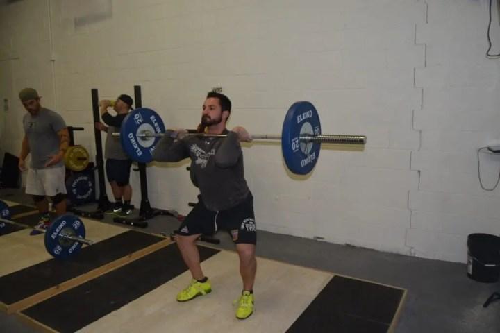 Cuánto peso podemos levantar en ejercicios olímpicos