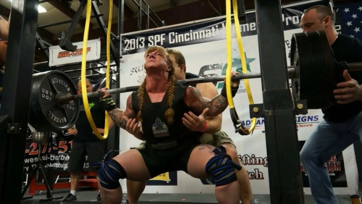 Técnica de la sentadilla en powerlifting