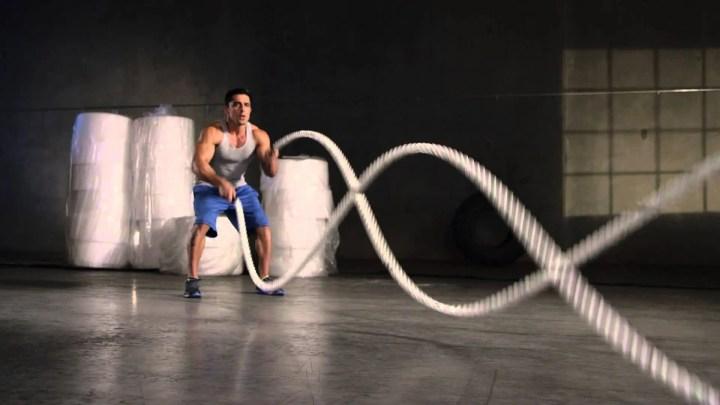 cuerdas de batalla para quemar grasa