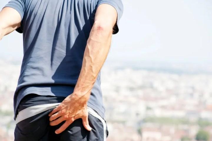 Dolor de espalda causado por el músculo piriforme