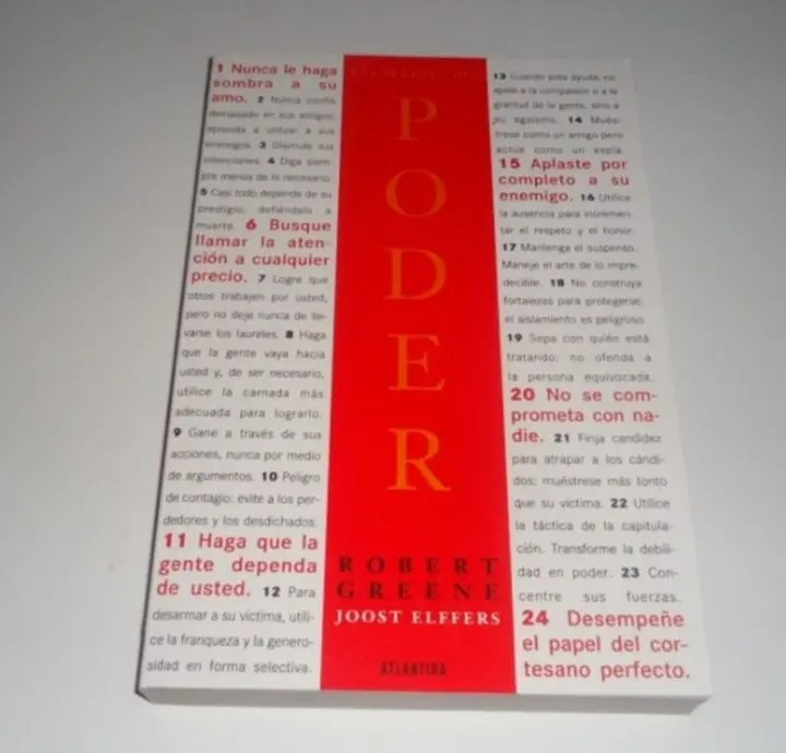 Las 48 leyes del poder de Robert Greene
