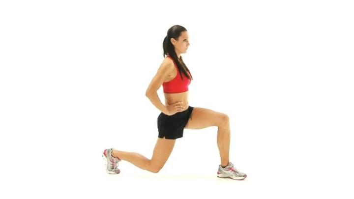 Modificación de zancadas si te duele la rodilla