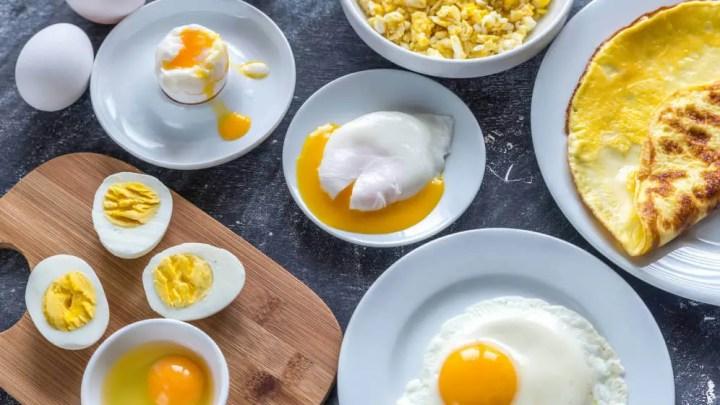 Cantidad de zinc en el huevo