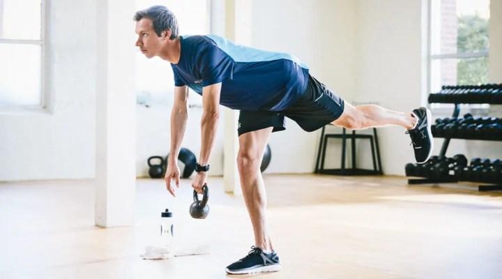 Ejercicios unilaterales de pierna para runners
