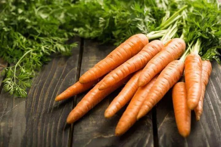Las zanahorias son una gran fuente de fibra soluble