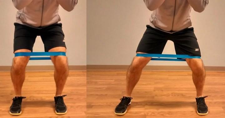 Ejercicios para personas con rodillas delicadas