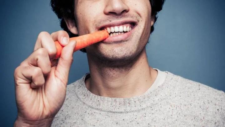 Calorías quemadas al masticar los alimentos
