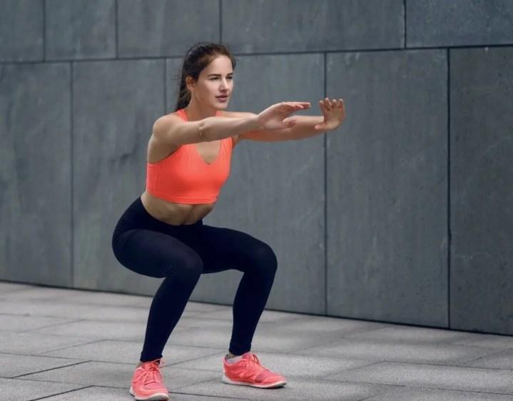 Tener piernas fuertes sin usar pesas