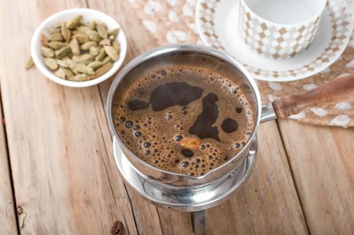 Cómo preparar un café turco auténtico