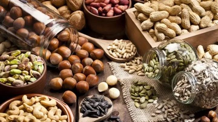 Los frutos secos disminuyen las ansias de azúcar