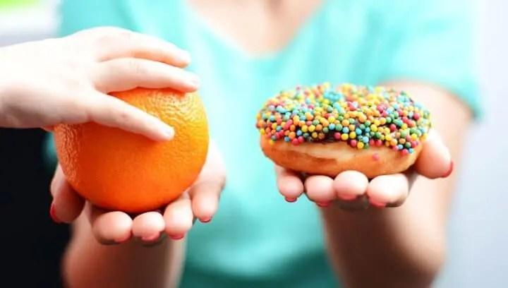 Evitar el consumo de azúcares en momentos de estrés