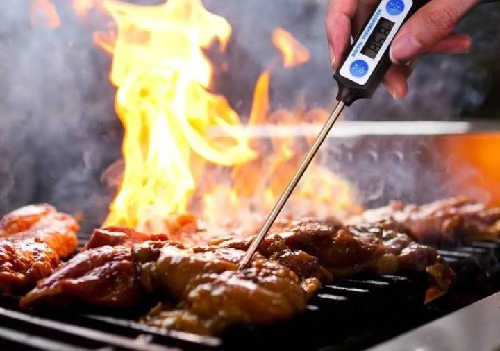 Cómo medir la temperatura de cocción de la carne