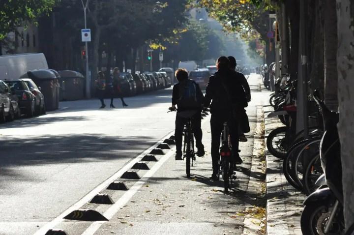 Reglas de seguridad del carril bici