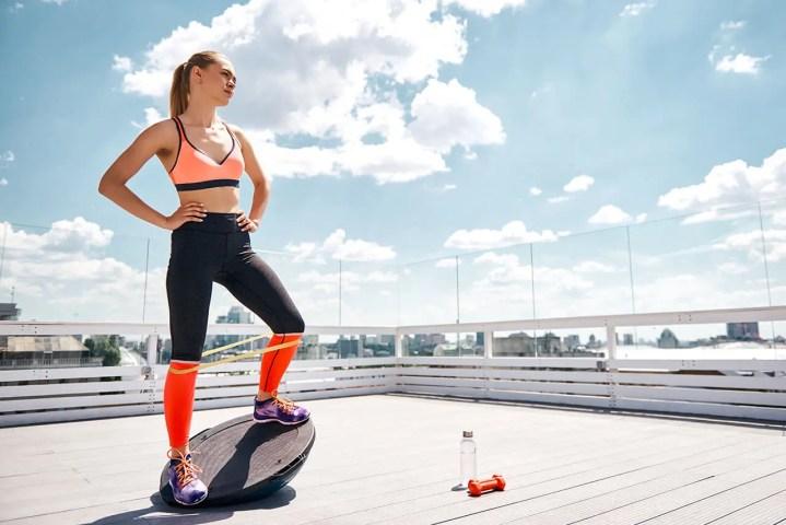 Ejercicios de equilibrio para fortalecer el tobillo
