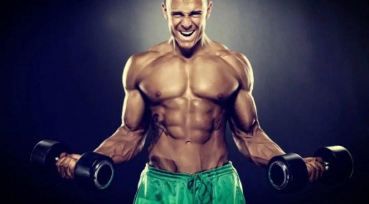 Variación de la región muscular del bíceps